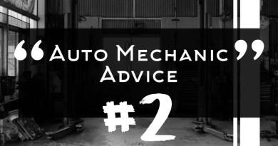 Auto Mechanic Advice 2