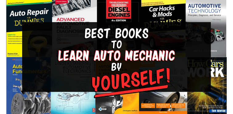 10 Best Auto Mechanic Books to Learn by Yourself [Updated]