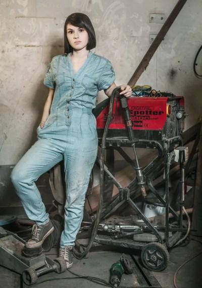 Natali Koledova - Girl Mechanic of the Month