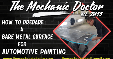 How to Prepare a Bare Metal Surface for Automotive Painting
