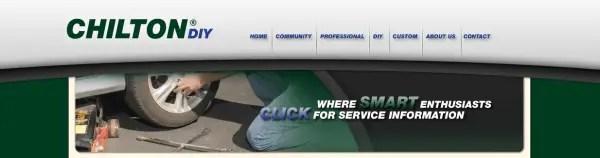 Chilton DIY - Online Repair Manuals