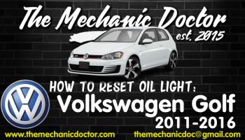 How to reset oil life: Volkswagen Jetta 2006, 2007, 2008, 2009, 2010