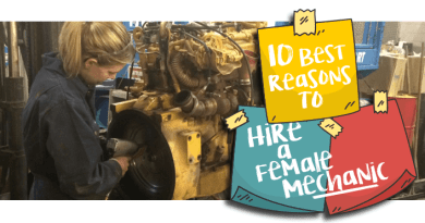 10 Best Reasons to Hire a Female Mechanic