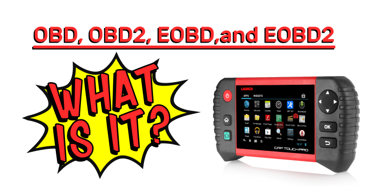 What Is OBD, OBD2, EOBD, And EOBD2