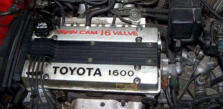 Toyota 4AGE redtop engine