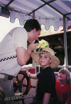 Working on the Jungle Cruise in the 1990's