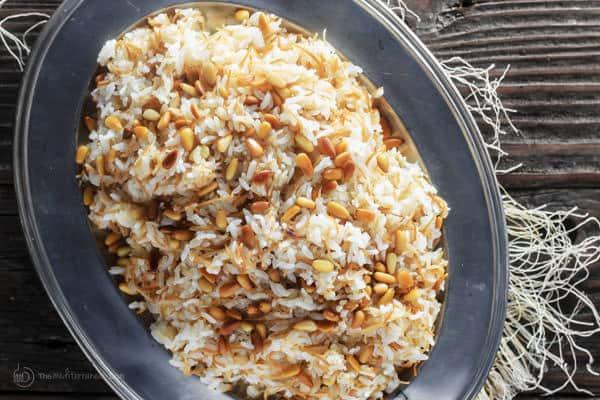 Lebanese Rice Spinach