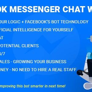 Facebook Messenger Chat with Bot v2.8