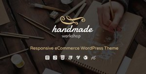 handmade - shop WordPress wordpress woocommerce Theme3.7