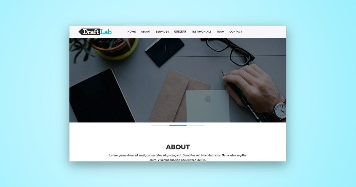 Draft Lab HTML5 Template