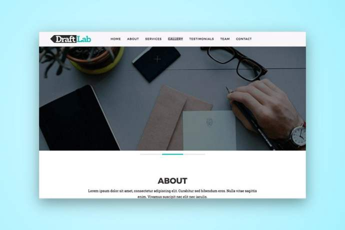 Draft Lab HTML5 Template