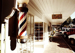 Small Town Barber Shop by hall.chris25