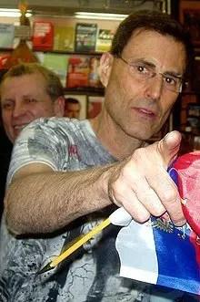 Uri Geller Israeli mentalist magician