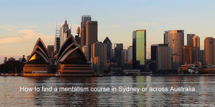 How to find a mentalism course in Sydney or across Australia