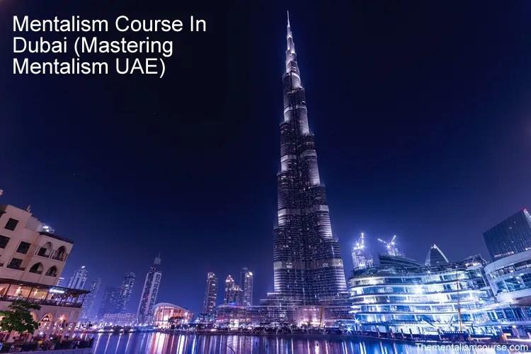 Mentalism Course In Dubai - Mastering Mentalism UAE