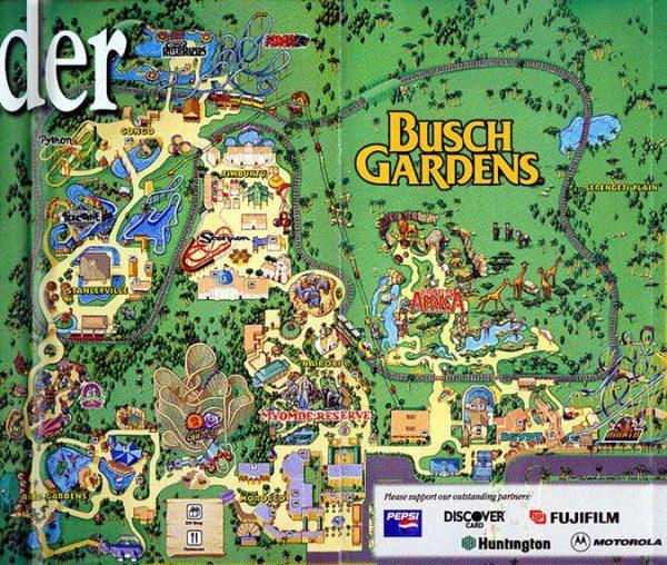 Busch Gardens Tampa Discount Tickets Maps Park Hours Rides Busch Gardens  Tampa Map Theme Park Brochures Busch Gardens Tampa Theme Park Brochures  Location ...