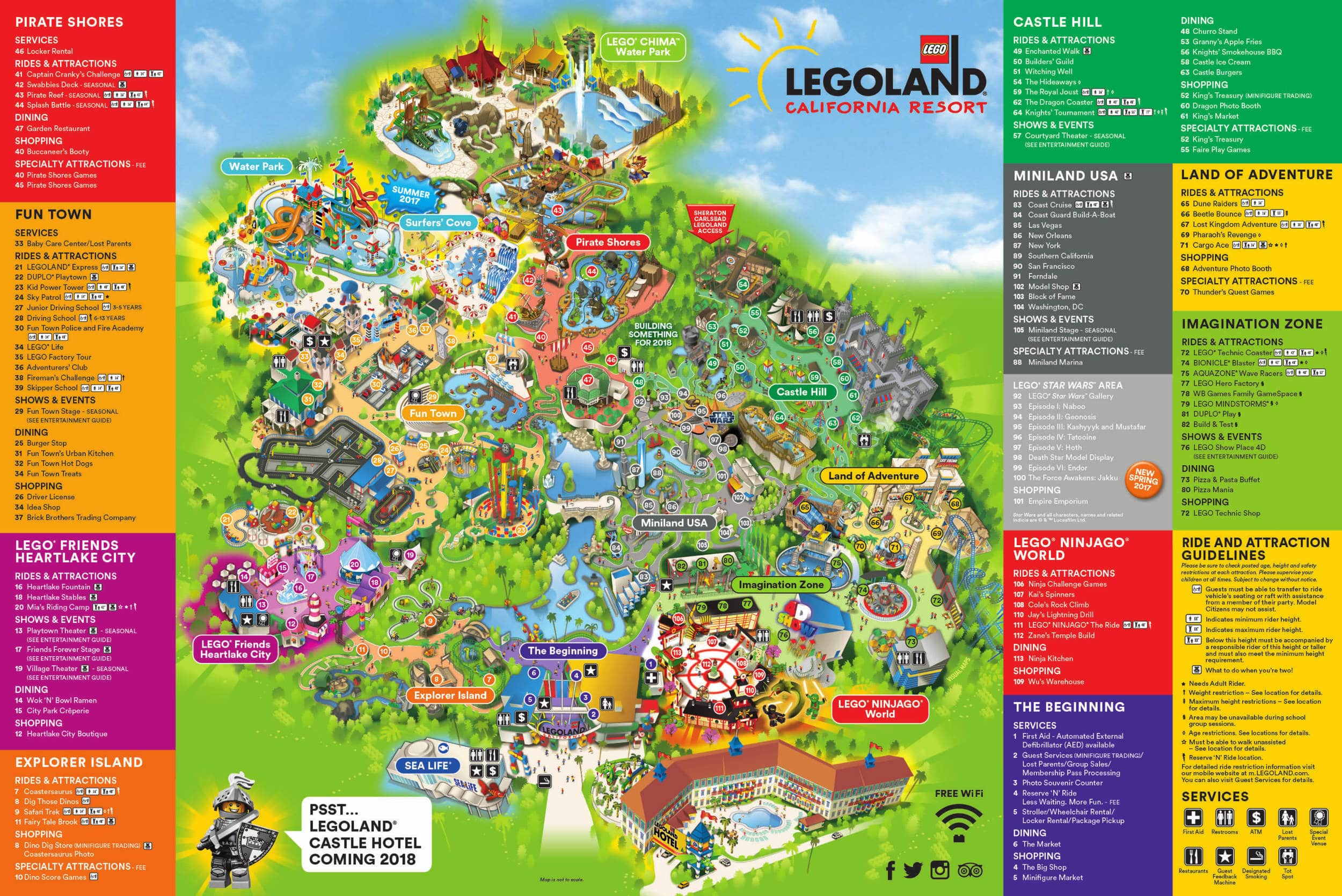 Theme Park Brochures Legoland California Resort