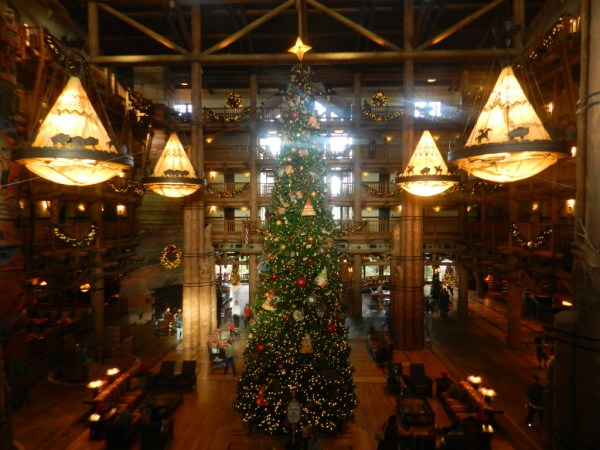Christmas at Fort Wilderness Lodge Resort