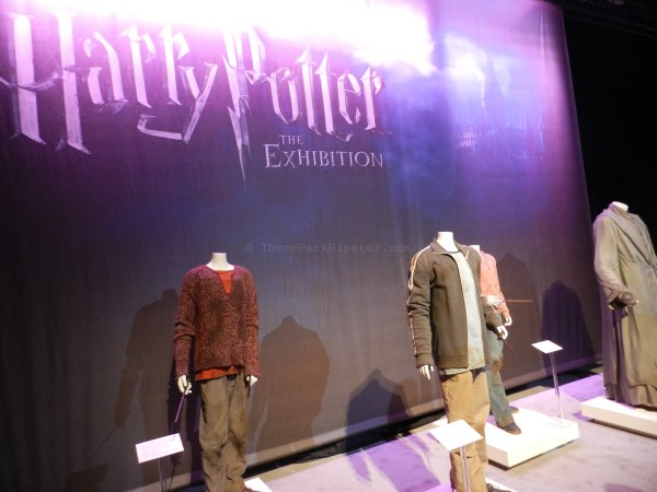 Harry Potter film costume exhibition