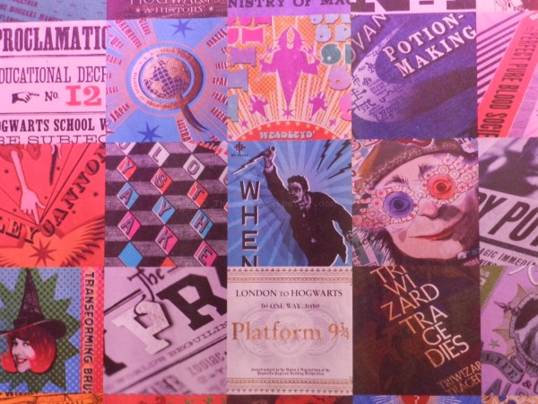 You may recognize some of the famous MinaLima designs from the Harry Potter films
