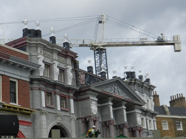 Diagon Alley Construction photos