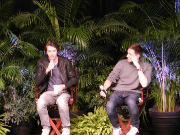 The Phelps brothers at the Q&A session