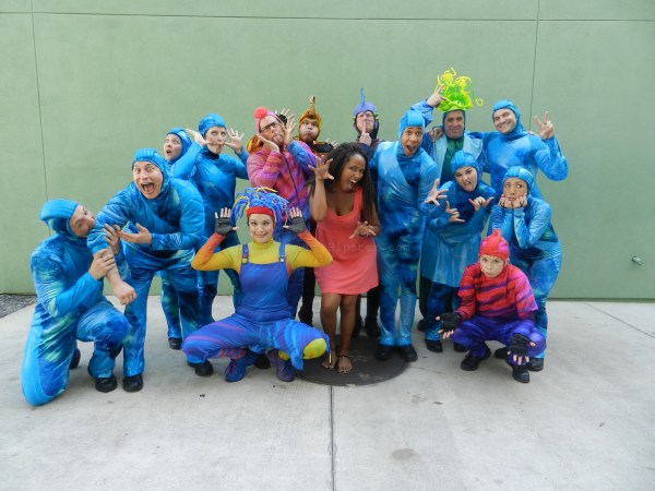 #Disneyside with Animal Kingdom's Finding Nemo Cast