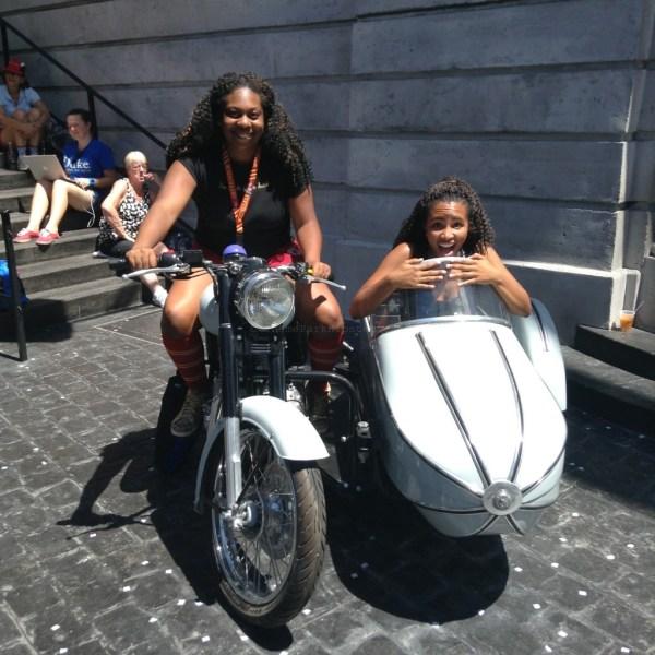 Diagon Alley: Sirius motor-bike