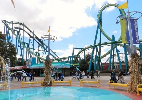 The Raptor at Cedar Point