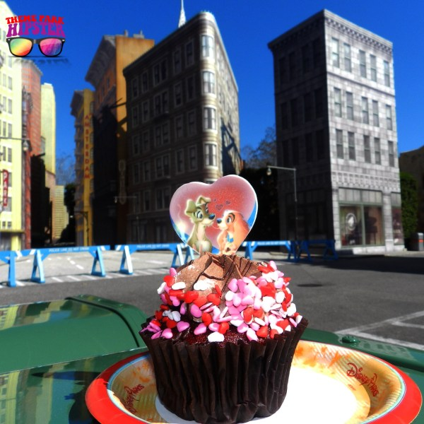 Disney's Valentine's Day Cupcake 2015