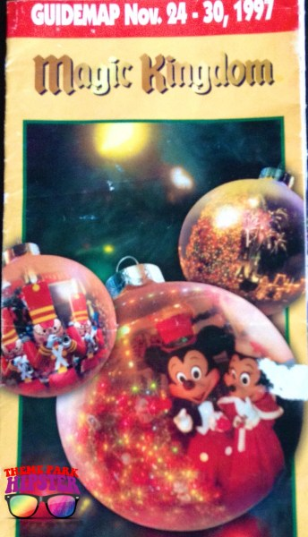 1997 Magic Kingdom Park Map