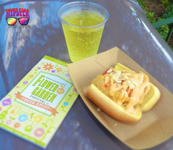 Ace Pineapple Hard Cider & Pineapple dog – Spicy hot dog, pineapple chutney and Sriracha mayo