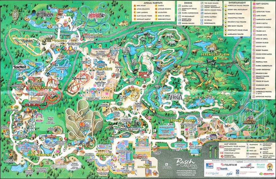 Let\'s Relive the Slithery Trek of Busch Garden\'s Python Roller ...