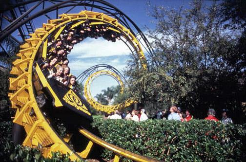 Python Roller Coaster Photo: TampaPix.com