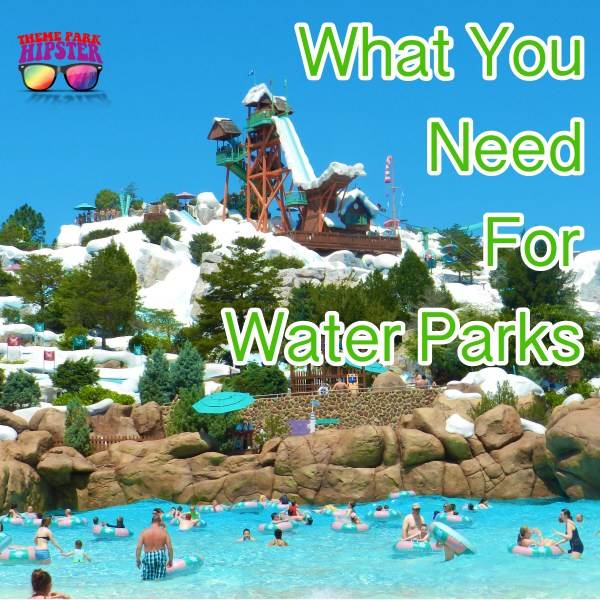 what to pack for water parks