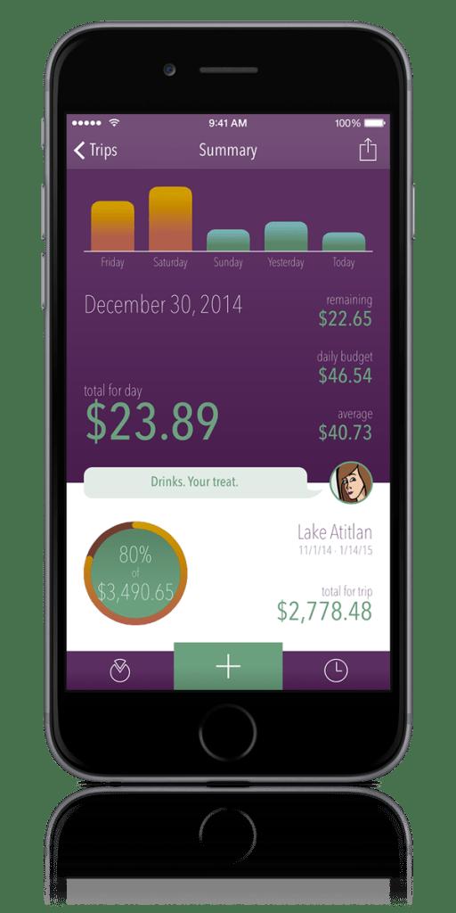 Trail Wallet Travel Spending Tracking App