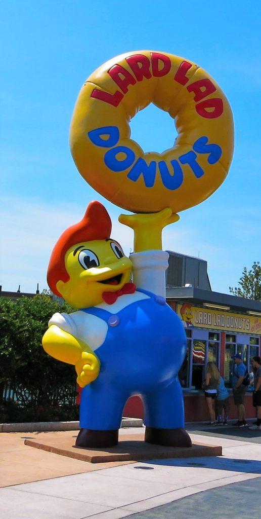 Simpsons Lard Donuts Universal