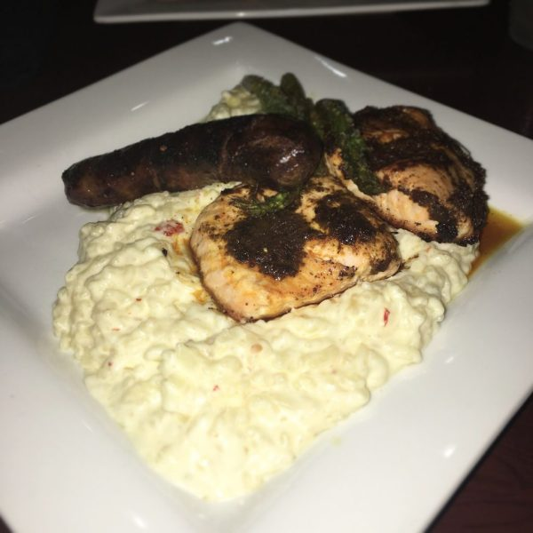 19 reasons you'll love CLC Regal Oaks. Chorizo & Brown Butter Jump Fried Atlantic Salmon had fresh herbs, tasty sofrito, creamy Parmesan risotto, and perfectly roasted jumbo asparagus.