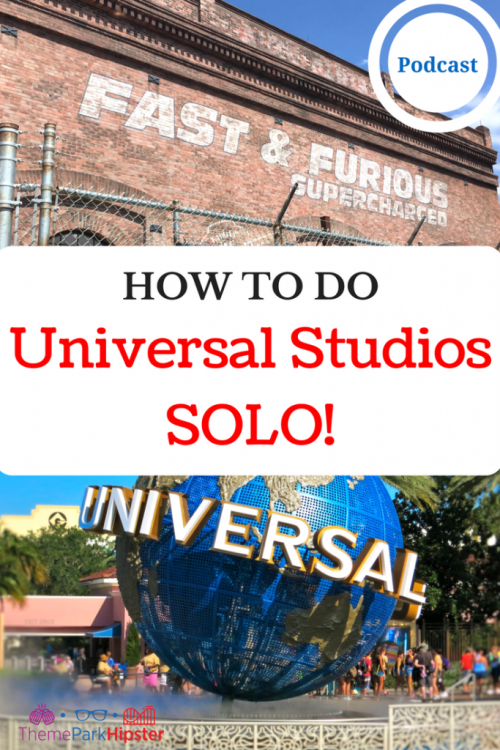 how to do universal studios solo