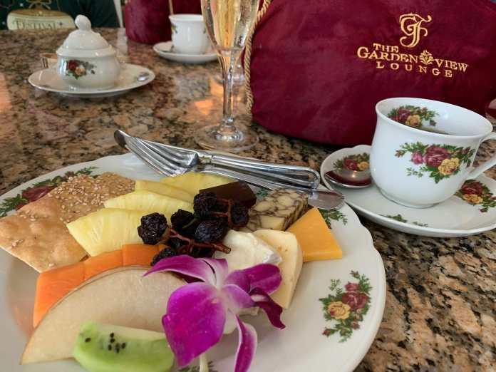Grand Floridian Afternoon Tea Food