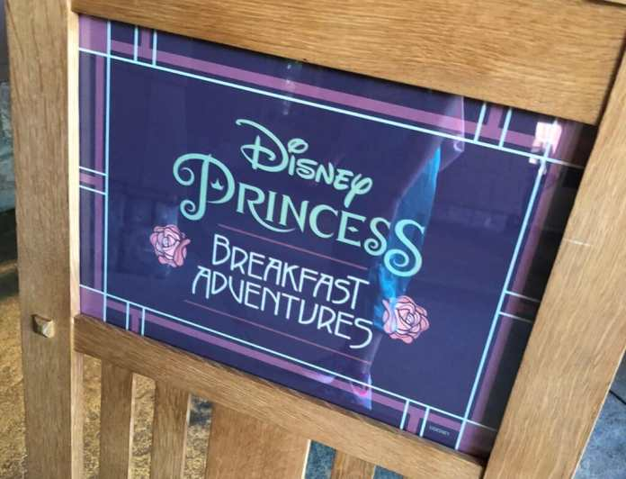 Disney Princess Breakfast Adventure at Napa Rose