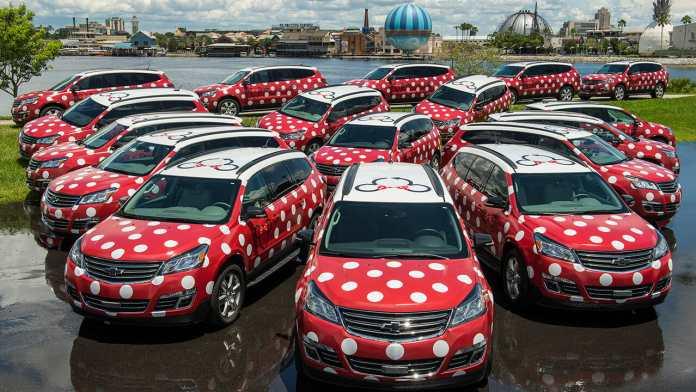 Minnie Vans at Walt Disney World