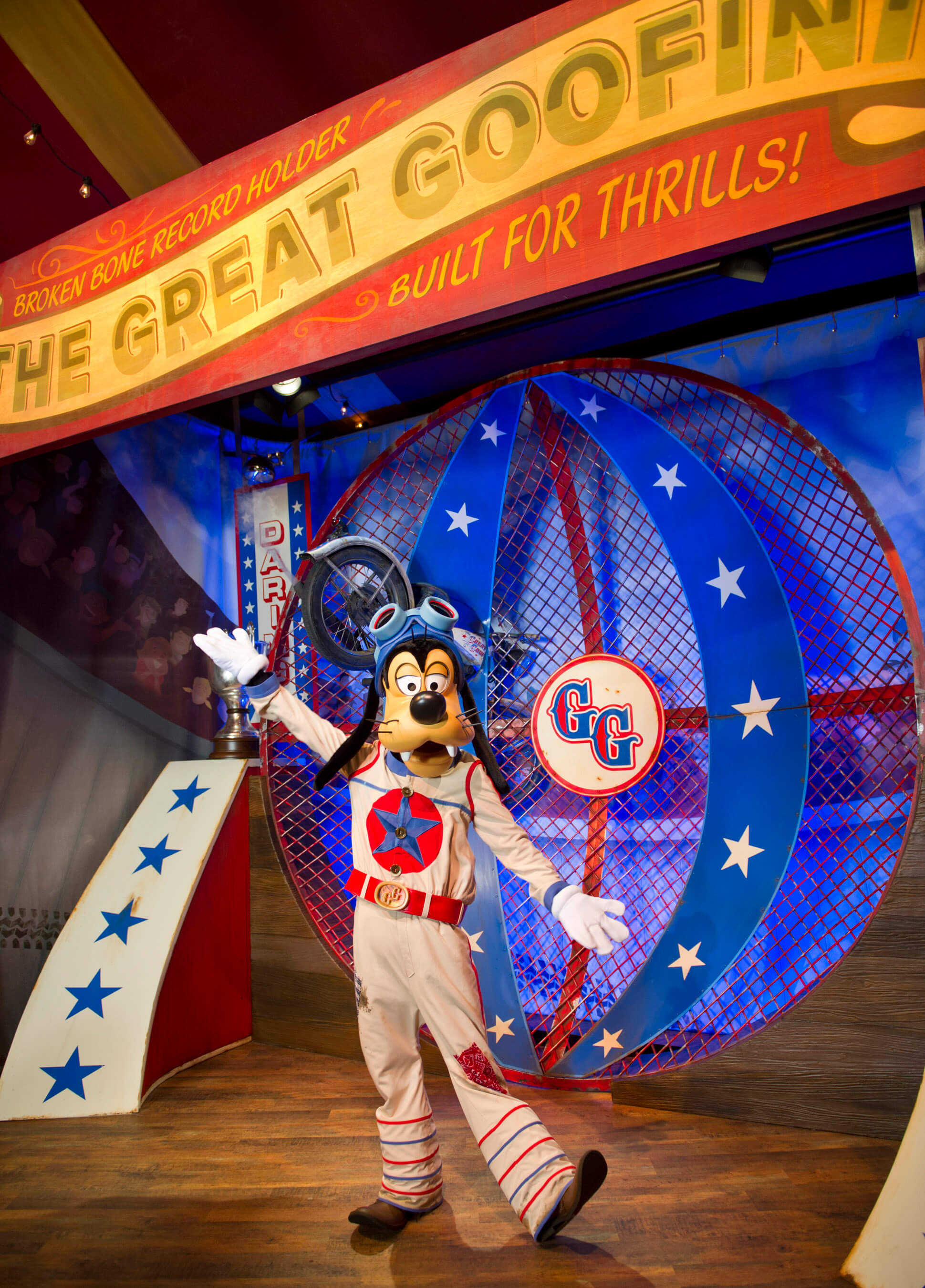 Goofy in Pete's Silly Sideshow