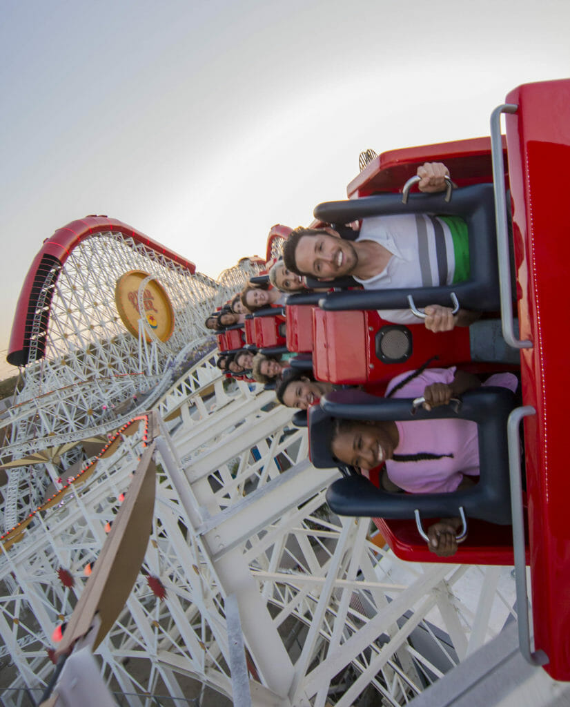 Incredicoaster at Disney California Adventure Park