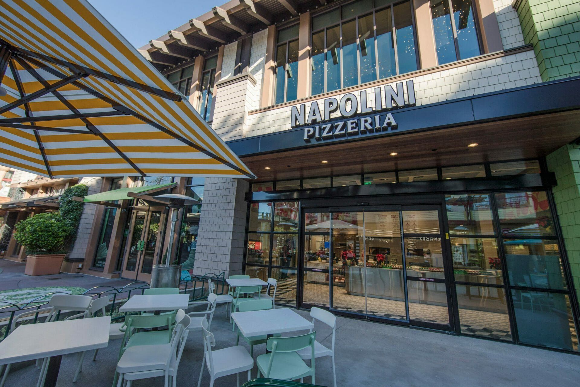 Napolini Pizzeria in Downtown Disney District at the Disneyland Resort