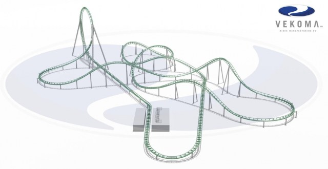 Image result for vekoma launch coaster