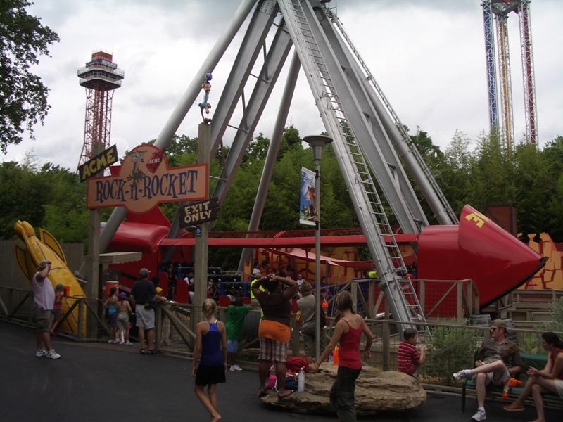 Six Flags Over Texas Rock N Rocket