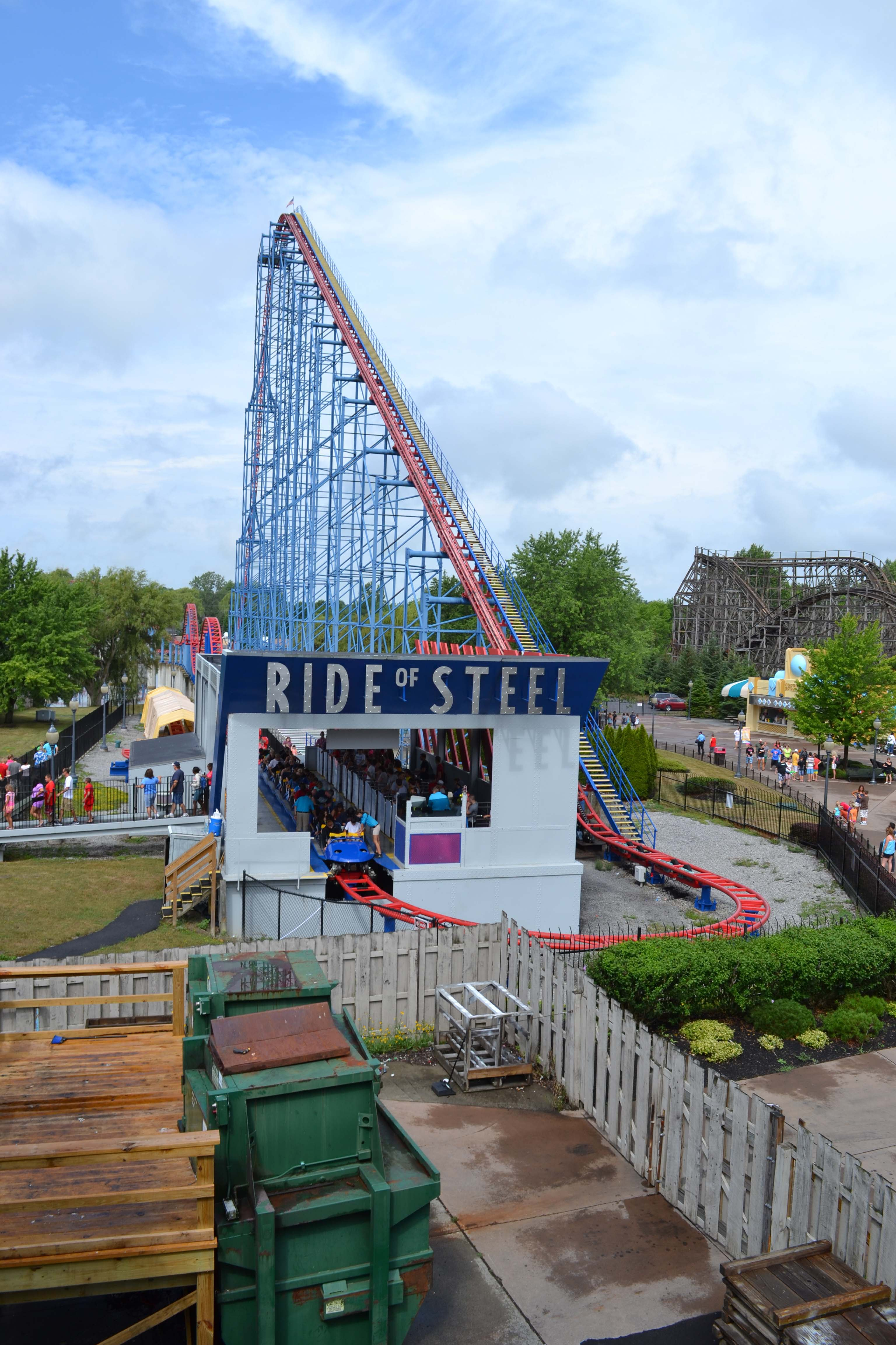 Darien Lake Ride Of Steel