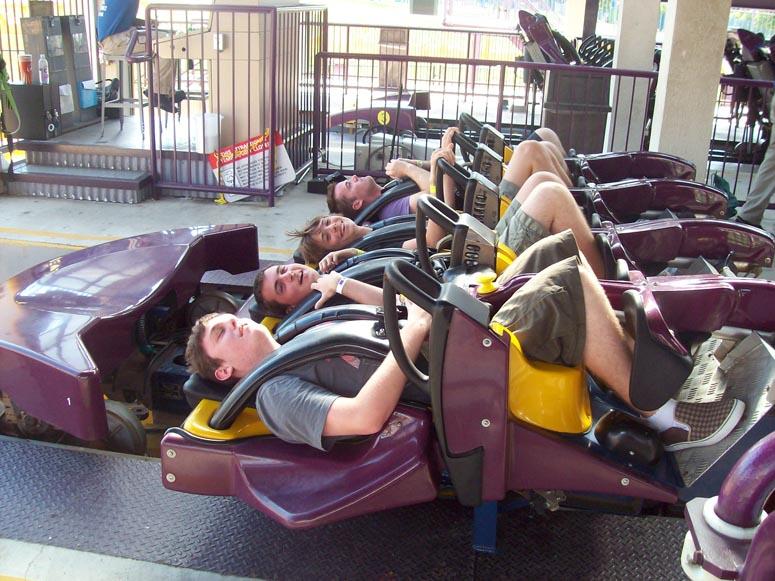 Six Flags Darien Lake Superman