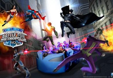 Justice League: Battle For Metropolis, Six Flags Magic Mountain Construction Update #1